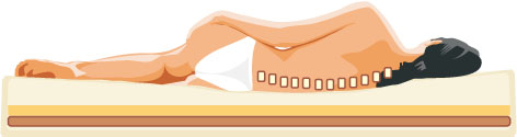 back pain on soft bed